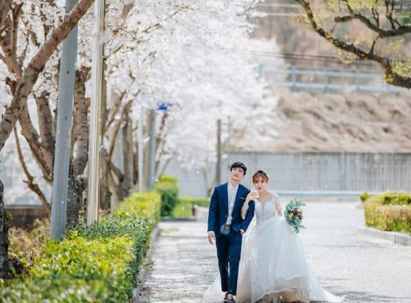 Địa điểm chụp ảnh cưới ở Hàn Quốc. Công viên Incheon. Địa điể chụp ảnh cưới lãng mạn ở Hàn Quốc