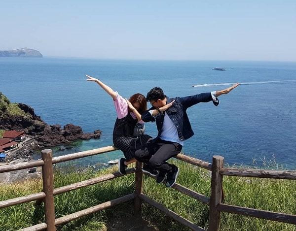 Đến Hàn Quốc nên chụp ảnh cưới ở đâu? Địa điểm chụp ảnh cưới ở Hàn Quốc. Mỏm đá Jusangjeolli