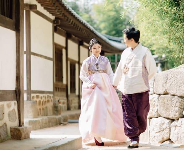 Địa điểm chụp ảnh cưới ở Hàn Quốc. Top địa điểm chụp ảnh cưới nổi tiếng ở Hàn Quốc. Khu làng cổ Bukchon Hanok