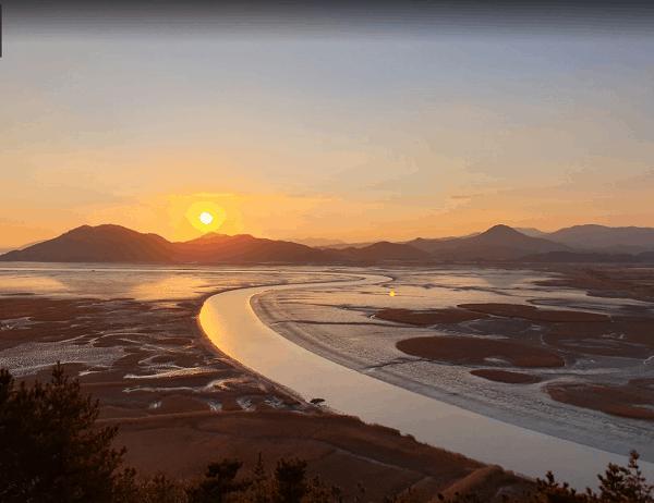 Địa điểm du lịch Hàn Quốc đẹp nhất. Vịnh Suncheon Bay