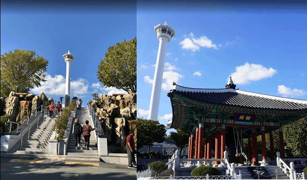Địa điểm du lịch Hàn Quốc. Tháp Busan. Điểm ngắm cảnh từ trên cao đẹp ở Hàn Quốc