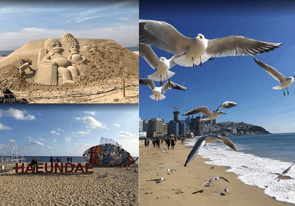 Địa điểm du lịch mùa hè ở Hàn Quốc hấp dẫn nhất. Bãi biển Haeundae