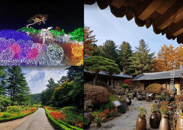 Địa điểm du lịch nổi tiếng ở Hàn Quốc. Nên đi đâu chơi, tham quan ở Hàn Quốc? Garden of Morning Calm