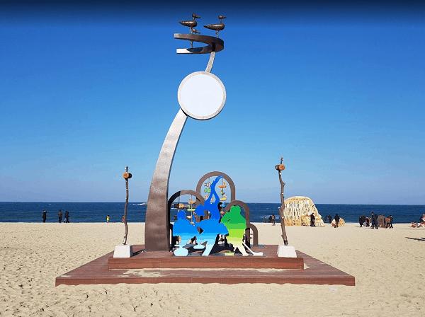 Địa điểm du lịch ở Hàn Quốc. Bãi biển Gyeongpo