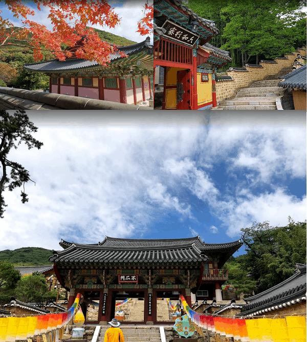 Địa điểm du lịch ở Hàn Quốc mùa thu đẹp nhất. Chùa Beomeosa. Nên đi đâu tham quan ở Hàn Quốc?