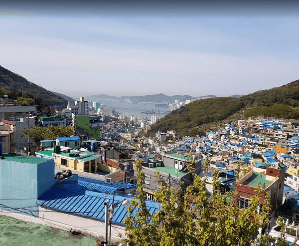 Địa điểm du lịch ở Hàn Quốc nổi tiếng. Nên đi đâu tham quan, check in khi du lịch Hàn Quốc? Làng văn hóa Gamcheon Culture Village