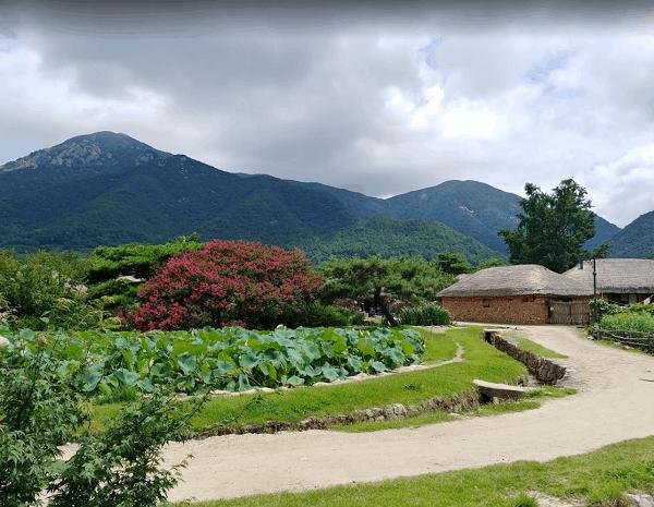 Địa điểm du lịch, tham quan hấp dẫn ở Hàn Quốc. Làng dân tộc Naganeupseong Folk Village