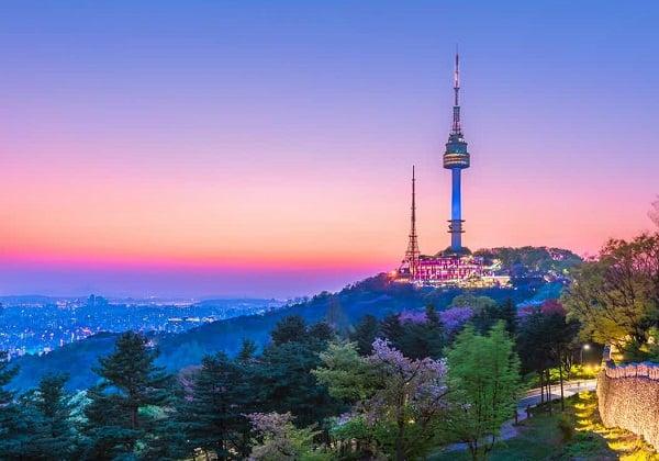 Du lịch Seoul nên đi đâu tham quan? Ngắm trọn Seoul tại tháp Namsan