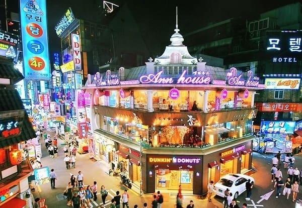 Du lịch Seoul nên đi đâu chơi gì? tham quan khu phố Tây khu phố Tây Itaewon