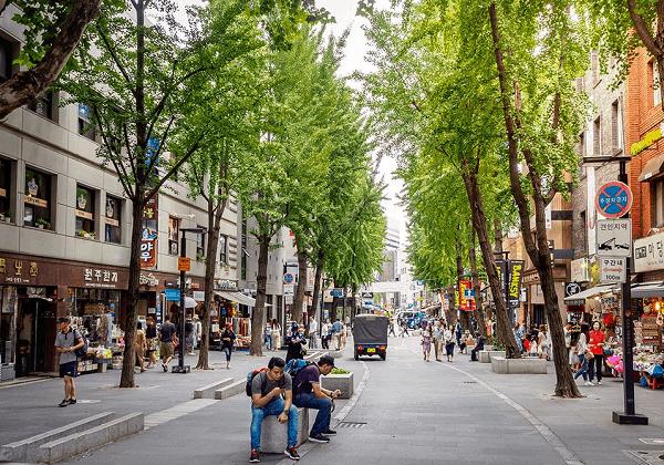 Du lịch Hàn Quốc nên ở đâu? Khu vực Insadong phù hợp du lịch Seoul với gia đình
