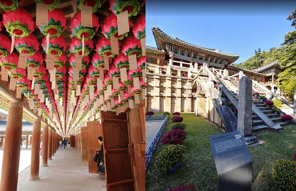 Hàn Quốc có địa điểm du lịch nào nổi tiếng? Chùa Bulguksa ở Hàn Quốc