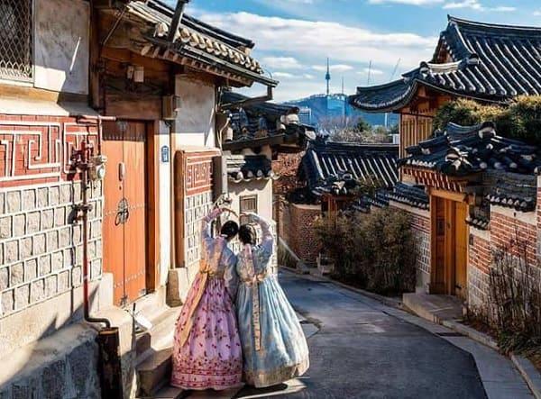 Du lịch Seoul - Nami 3 ngày 2 đêm. Địa điểm du lịch nổi tiếng ở Soeul. Làng Bukchon Hanok