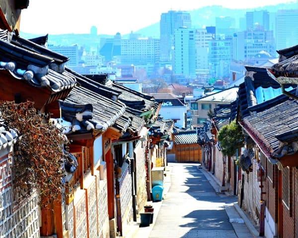 Du lịch Seoul - Nami 3 ngày 2 đêm. Du lịch seoul nên đi đâu chơi? Làng cổ Bukchon Hanok