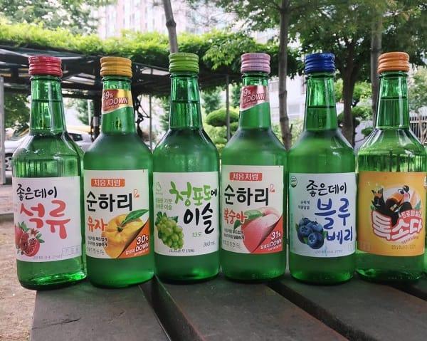 Hàn Quốc có đặc sản gì ngon, nổi tiếng? Đặc sản rượu Soju Hàn Quốc