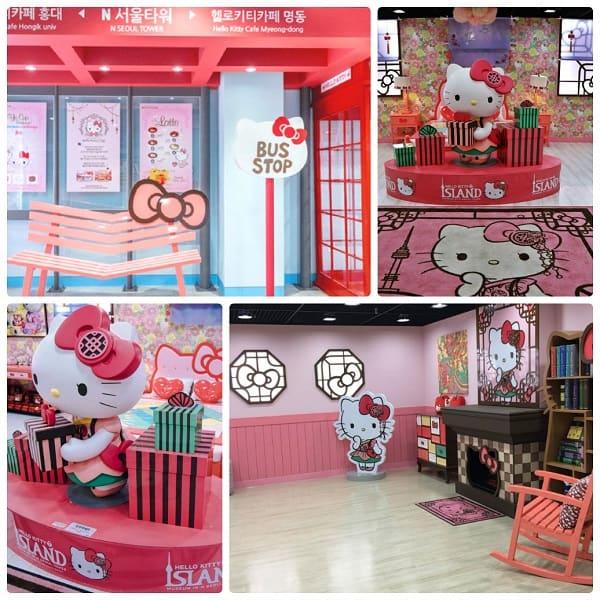 Kinh nghiệm đi tháp Namsan, tham quan Khu trưng bày Hello Kitty