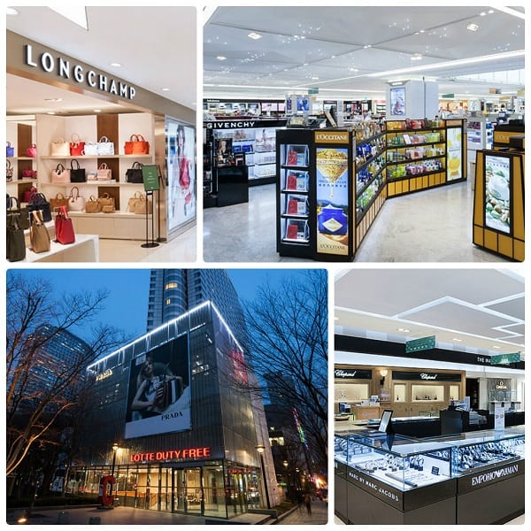 Kinh nghiệm mua sắm ở Lotte Duty Free, cửa hàng Lotte Duty Free COEX