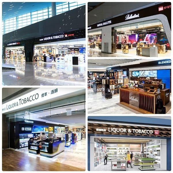 Kinh nghiệm mua sắm ở Lotte Duty Hàn Quốc, Cửa hàng Lotte Duty Free ở sân bay Incheon