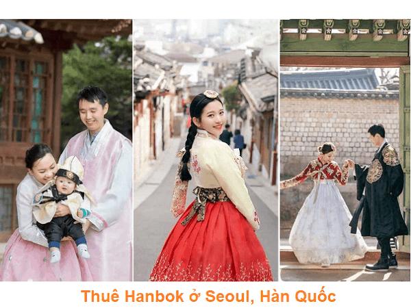 Chia sẻ kinh nghiệm thuê Hanbok ở Seoul, Hàn Quốc
