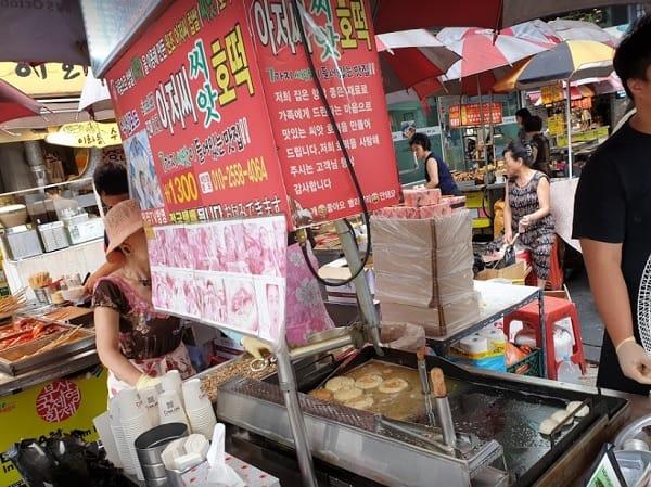 Đến Busan nên ăn gì? Ssiat hotteok. Món ăn vặt ở Busan