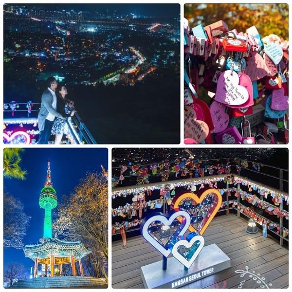 Valentine ở Seoul, Hàn Quốc nên đi đâu? Tham quan tháp N Seoul