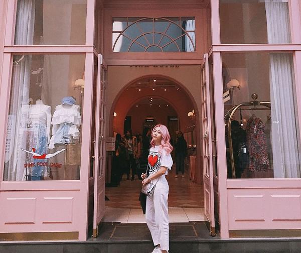 Style Nanda Pink Hotel Flagship Store/Địa điểm chụp ảnh đẹp ở Seoul