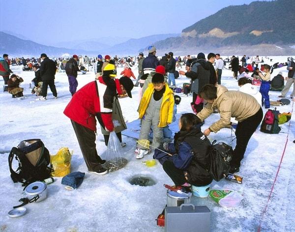 Review du lịch Hàn Quốc mùa đông