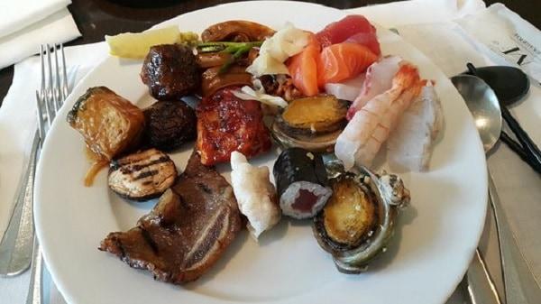 Nhà hàng Aria tại khách sạn Westin Chosun Seoul/ Quán ăn ngon ở Myeong-dong