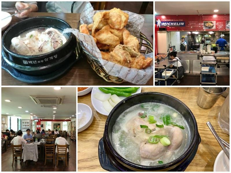 Địa chỉ ăn gà tần sâm ngon ở Seoul, Baeknyeon Tojong Samgyetang