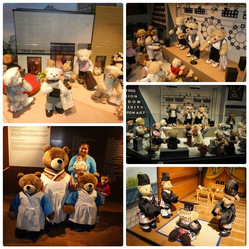 Du lịch Hàn Quố có trẻ em nên đi đâu? Bảo tàng gấu Teddy ở Seoul