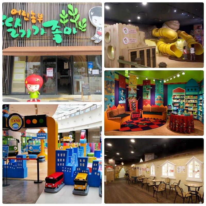 Địa điểm vui chơi ở Seoul cho trẻ em, Các quán cafe dành cho trẻ em ở Seoul