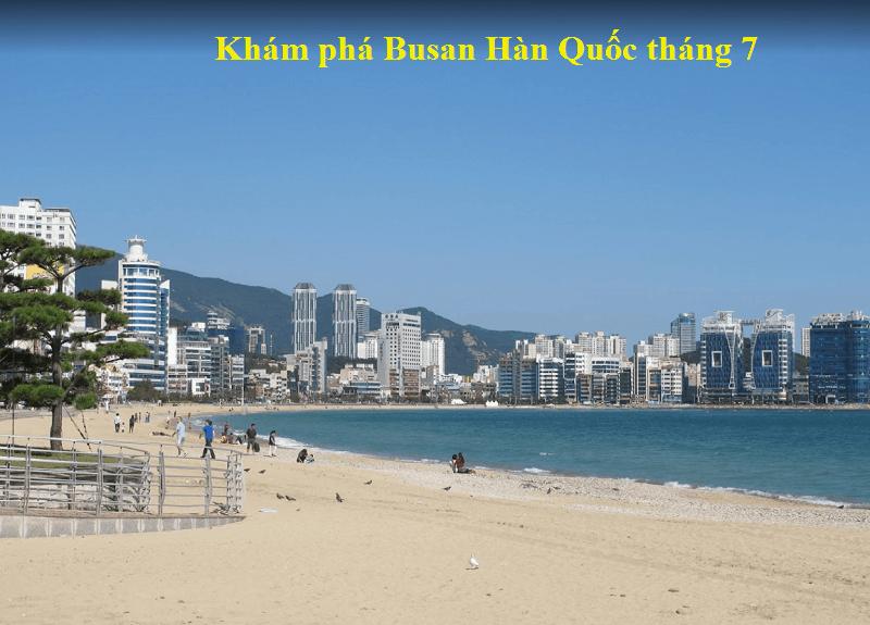 Du lịch Hàn Quốc tháng 7 có đẹp không, nên đi đâu? Review du lịch Hàn Quốc tháng 7. Busan