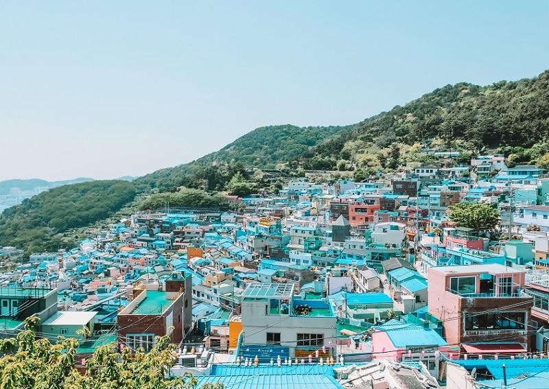 Kinh nghiệm du lịch Busan, Làng văn hóa Gamcheon
