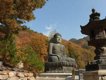 Lịch trình du lịch Gangwon 1 ngày: Đền Sinheunga - địa điểm tham quan ở Gangwon đẹp, đặc sắc
