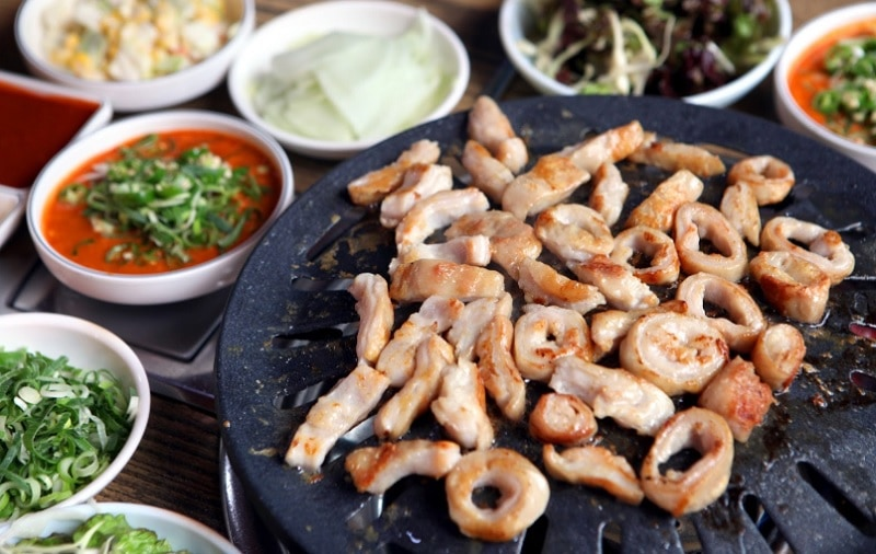 Món ăn ngon ở Daegu Hàn Quốc. Món Makchang, món ăn độc đáo ở Daegu