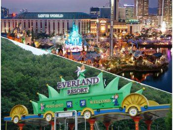 Nên đi công viên Lotte World hay Everland Hàn Quốc