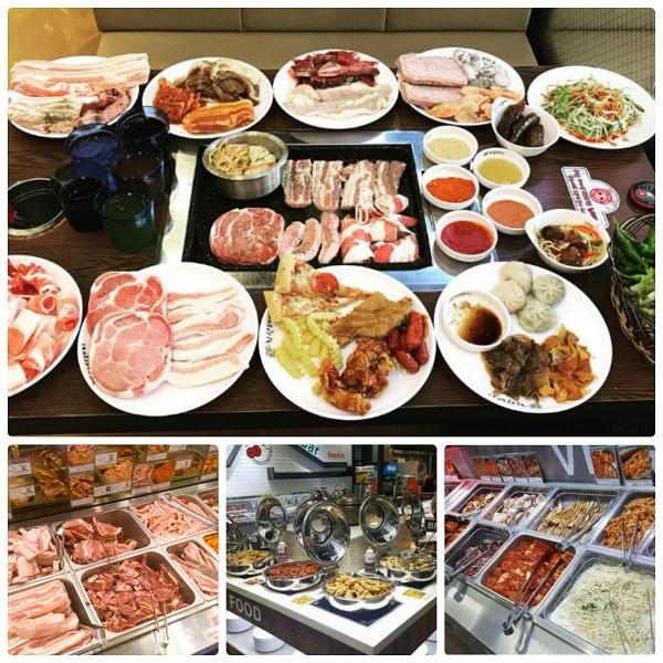 Quán buffet thịt nướng ở Seoul, Hàn Quốc, quán Chakhan Dwae-ji
