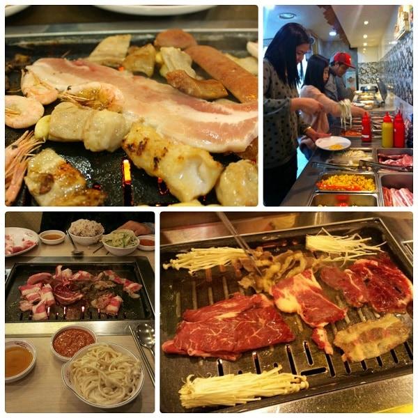 Địa chỉ ăn buffet thịt nướng ở Seoul Hàn Quốc,, ăn buffet BBQ ở Self-Bar