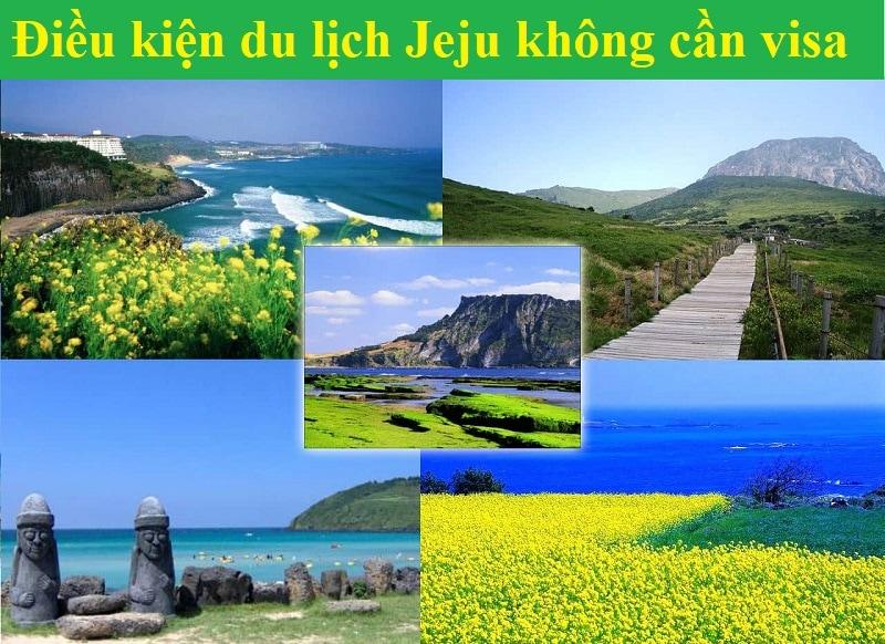 Du du lịch Jeju không cần visa phải làm sao? Điều kiện miễn visa du lịch Jeju