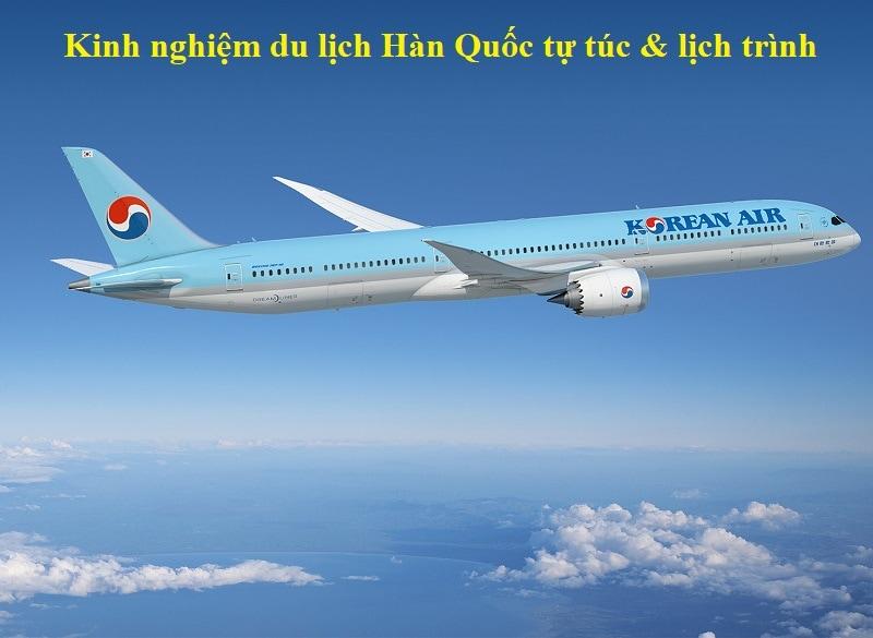 Hướng dẫn du lịch Hàn Quốc. Săn vé máy bay giá rẻ khi du lịch Hàn Quốc