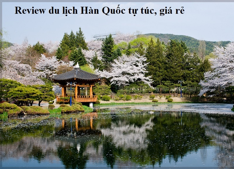 Kinh nghiệm du lịch Hàn Quốc - địa điểm tham quan. Vọng lâu Bomun