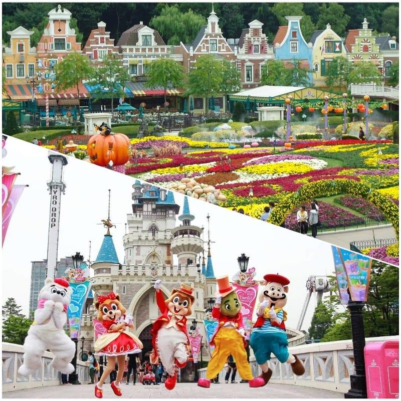 Kinh nghiệm du lịch Hàn Quốc. khu vui chơi giải trí ở Hàn Quốc