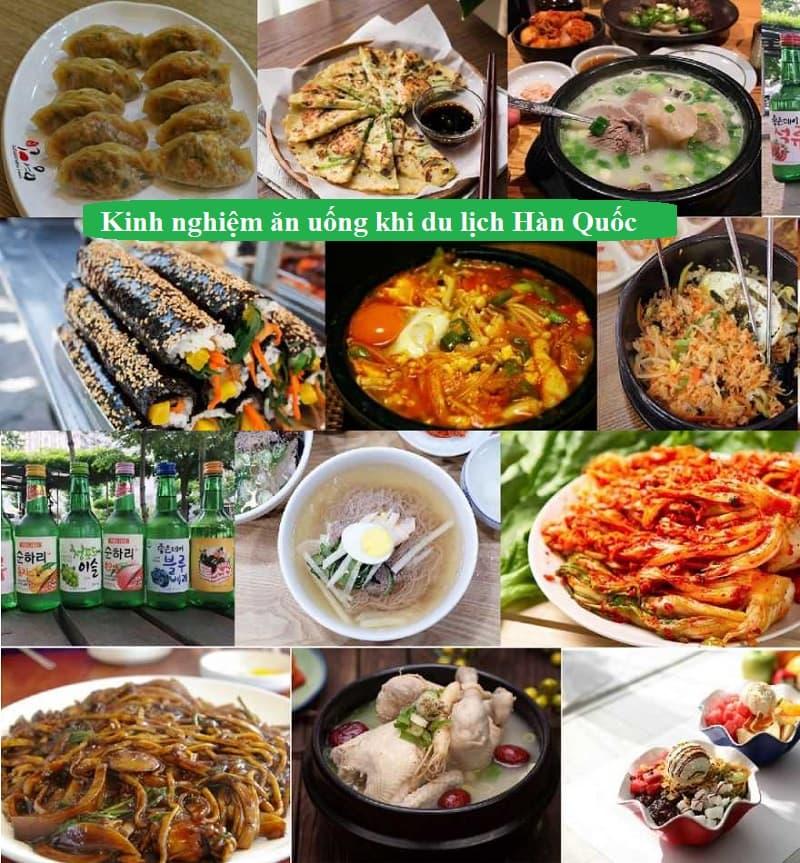 Kinh nghiệm du lịch Hàn Quốc. Món ăn ngon đặc sản ở Hàn Quốc