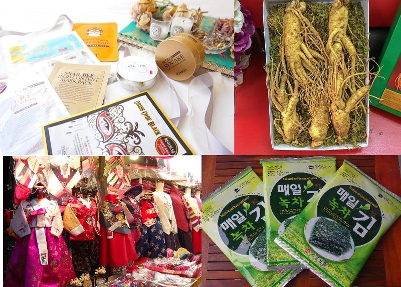Kinh nghiệm du lịch Hàn Quốc mua gì làm quà? Những món đặc sản Hàn Quốc nên mua về làm quà