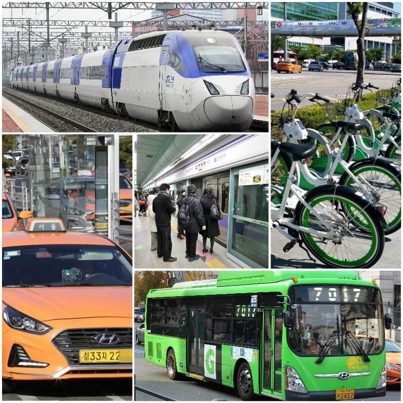 Kinh nghiệm du lịch Hàn Quốc. Phương tiện đi lại khi du lịch Hàn Quốc