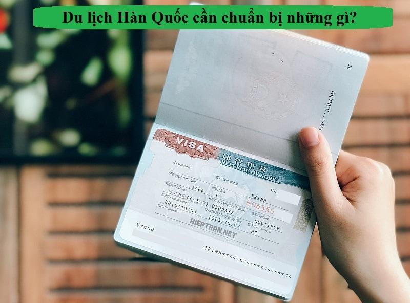 Kinh nghiệm du lịch Hàn Quốc. Hướng dẫn xin visa