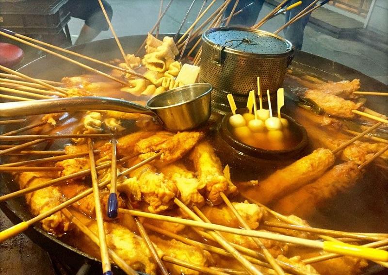 Top món ăn vặt ở Hàn Quốc ngon nhất, Odeng Chả cá Hàn Quốc