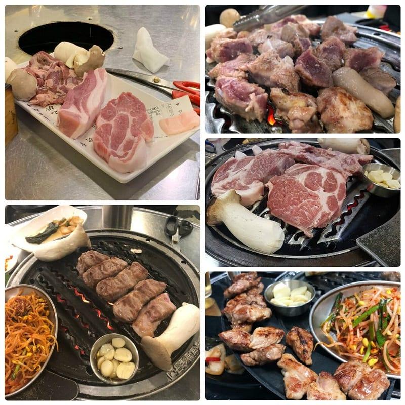 Nhà hàng thịt nướng BBQ nổi tiếng ở Seoul, Ddangko Chamsut Gui