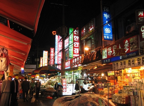 Những khu chợ đêm ở Seoul, Hàn Quốc to nhất, chợ đêm Namdaemun
