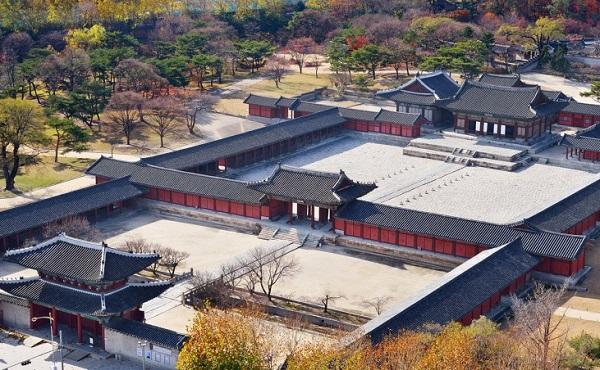Cung điện Changgyeonggung, một trong những cung điện nổi tiếng ở Seoul Hàn Quốc