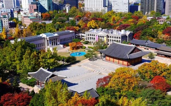 Deoksugung, một trong những cung điện đẹp ở Seoul Hàn Quốc